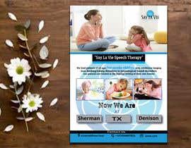 Nro 21 kilpailuun Design a Flyer for a Speech Therapy Company käyttäjältä tumpazarif157