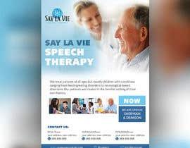 Nro 37 kilpailuun Design a Flyer for a Speech Therapy Company käyttäjältä wastudesign