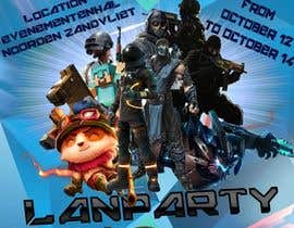 #13 for Lan party poster/flyer by panjamon