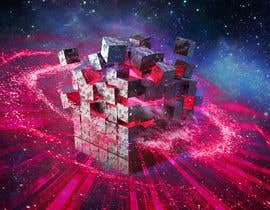 #9 for I need a exploding sci-fi cube in space af Antonn3