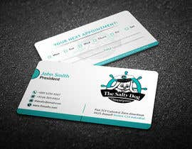 #97 for Design businesses cards for my dog grooming business by chandrarahuldas