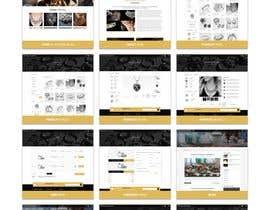 MdRifathHassan님에 의한 Design (not build) me a website for a Jewellery Company을(를) 위한 #12