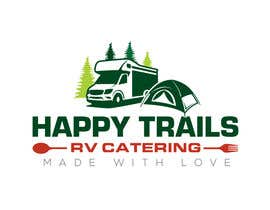 #108 for Design a Logo for a food catering service - Happy Trails RV Catering by fourtunedesign