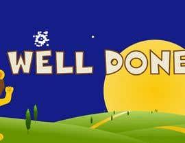 #16 cho Kiddies game - Well Done screen design bởi cintia05