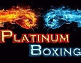 #140 para Logo Design for Platinum Boxing por neeraj007143