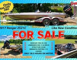 "#40 for need poster today for selling boat "" used boat "" need inspiration av asaduzaman"