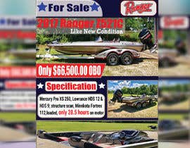 "#41 for need poster today for selling boat "" used boat "" need inspiration av rakibul151752"