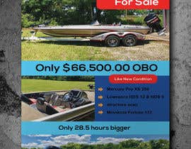 "#33 for need poster today for selling boat "" used boat "" need inspiration av nazmul560"