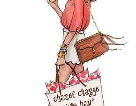 "#8 for Change title of book to ""Budget Friendly Luxury""  Change logo on bag to Chanel Change girls hair to curly by maliohammad"