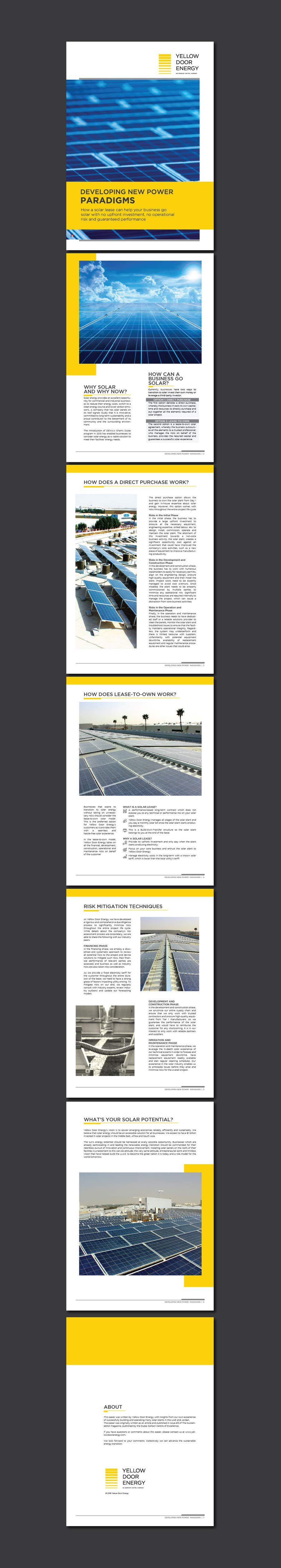 Entry #34 by felixdidiw for Design a company report 7 pages