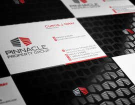 nº 67 pour Business Card Design for Pinnacle Property Group - POTENTIAL LONG-TERM EMPLOYER par nordzromulo