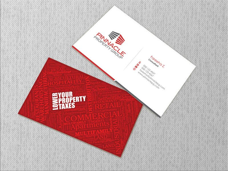 Contest Entry #                                        64                                      for                                         Business Card Design for Pinnacle Property Group - POTENTIAL LONG-TERM EMPLOYER