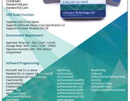 #11 untuk Design a Flyer for a Telephony Product oleh zlostur