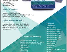 #21 untuk Design a Flyer for a Telephony Product oleh zlostur