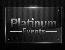 #38 for Design a logo for Platinum Events af aadizahid
