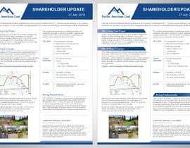 #22 untuk Shareholder Update Template oleh dka57ea0f35a37cf