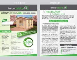 #15 for Brochure design double page af chowagraphics