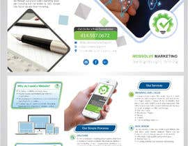 Nro 61 kilpailuun Trifold Brochure for SEO Company käyttäjältä jhapollo