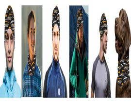 nº 11 pour Show a head scarf image being used by multiple locations par fatemakhan197