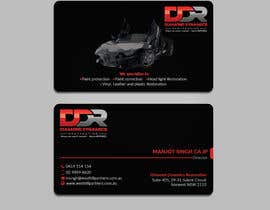 #133 dla Need A Business Card Design For An Automobile Detailing Business przez sirajulovi