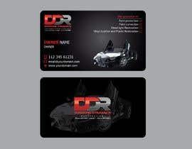 #98 dla Need A Business Card Design For An Automobile Detailing Business przez SadiaMuntaha