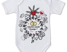 #22 untuk Diseño para un body de bebé oleh ferney77