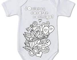 #52 untuk Diseño para un body de bebé oleh AngelBubu