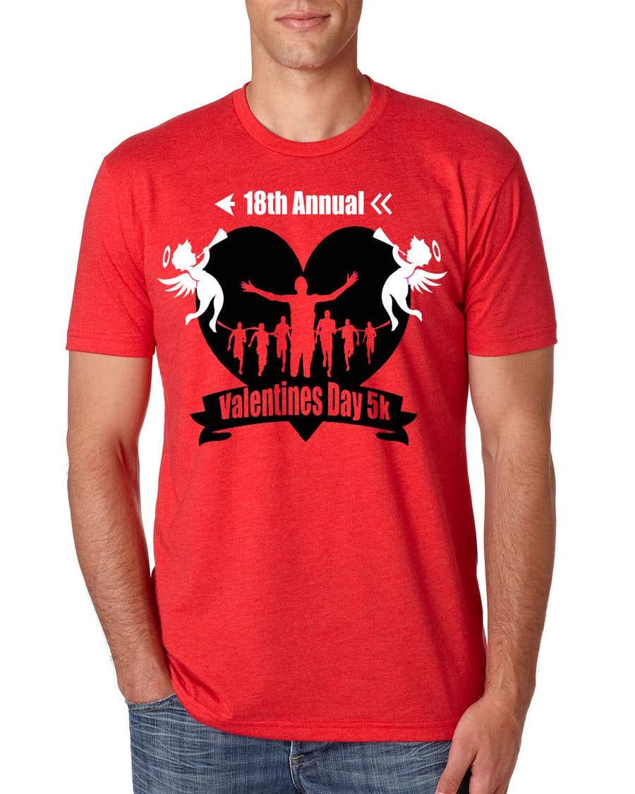 Entry 68 By Emranh388 For Valentines Day 5k T Shirt Design Freelancer