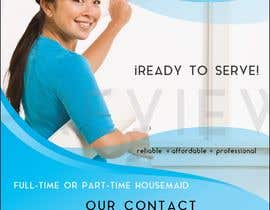 """#6 for create flyer for """"Housemaid"""" services by jennyfonsecah"""