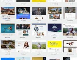 """Nro 1 kilpailuun Design a WordPress Mockup with a """"PIRATE"""" theme käyttäjältä kmsakibrahman"""