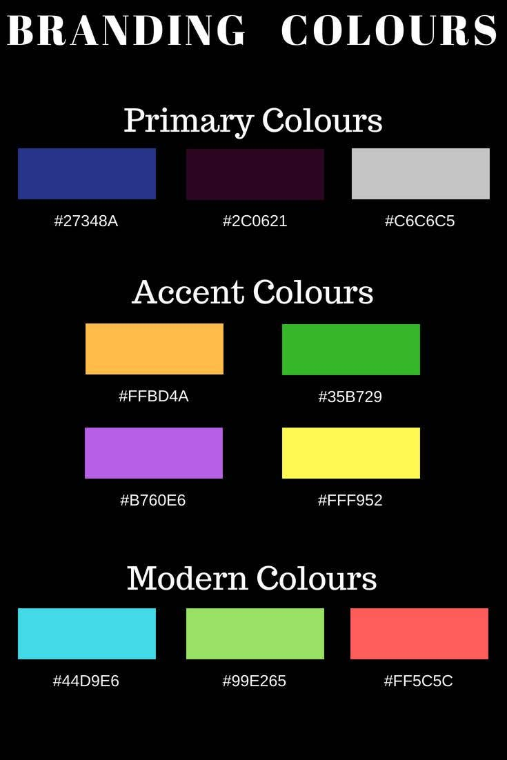 Proposition n°                                        7                                      du concours                                         Provide Branding Colours for Assistant Company
