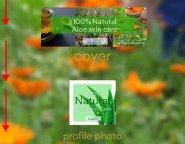 #16 for Designning of a FB page banner and image pic for a skincare brand by ronandfaith