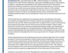 #25 para Business information document template de Dubledave