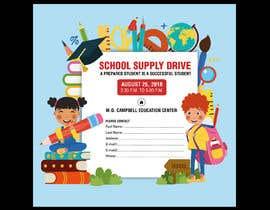 #42 for School Supply Drive Flyer Design for Teachers/Students af azgraphics939