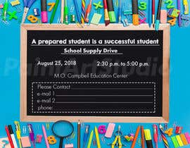 #25 for School Supply Drive Flyer Design for Teachers/Students af Shtofff