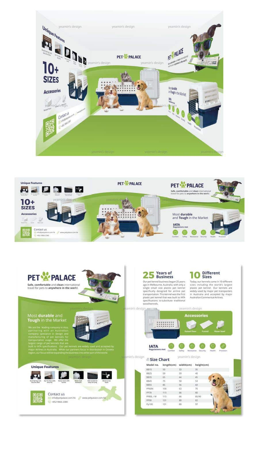Proposition n°38 du concours Exhibition Booth Wall Deco Design and Flyer Design