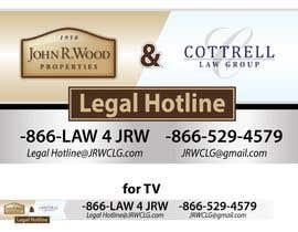 Nro 75 kilpailuun Legal hotline Image käyttäjältä desingero