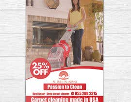 """#8 for create flyer/ad for """"carpet cleaning"""" af shemulpaul"""