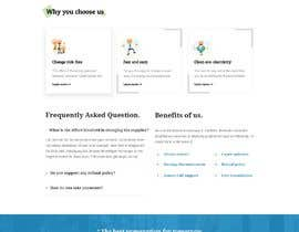 #35 for A new Landingpage design by mohincse