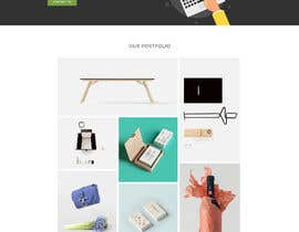#20 for Website Mockup design a specific page by blackeye77