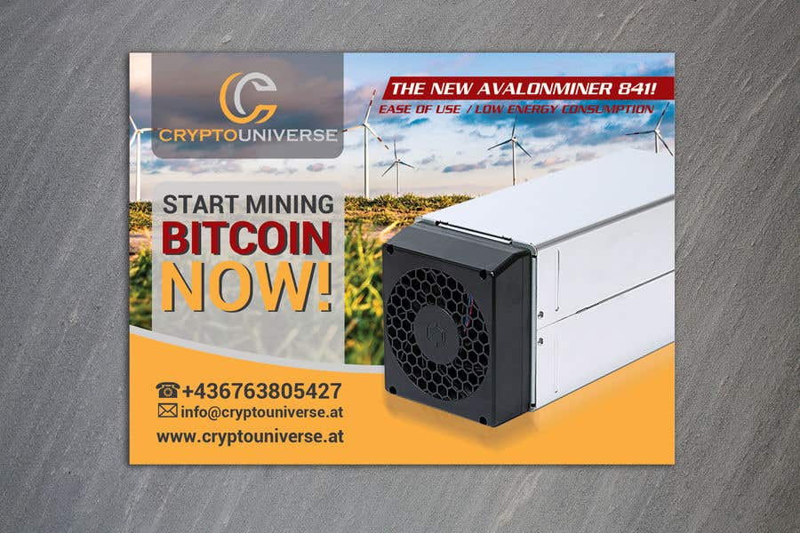 Contest Entry #61 for Newspaper Advertisement Banner - Cryptomining