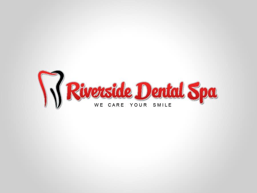 Penyertaan Peraduan #105 untuk Logo Design for Riverside Dental Spa