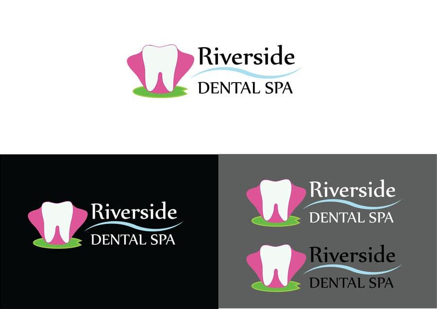 Penyertaan Peraduan #120 untuk Logo Design for Riverside Dental Spa