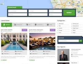 Nro 35 kilpailuun Real estate company name and website design käyttäjältä apekshaashu11