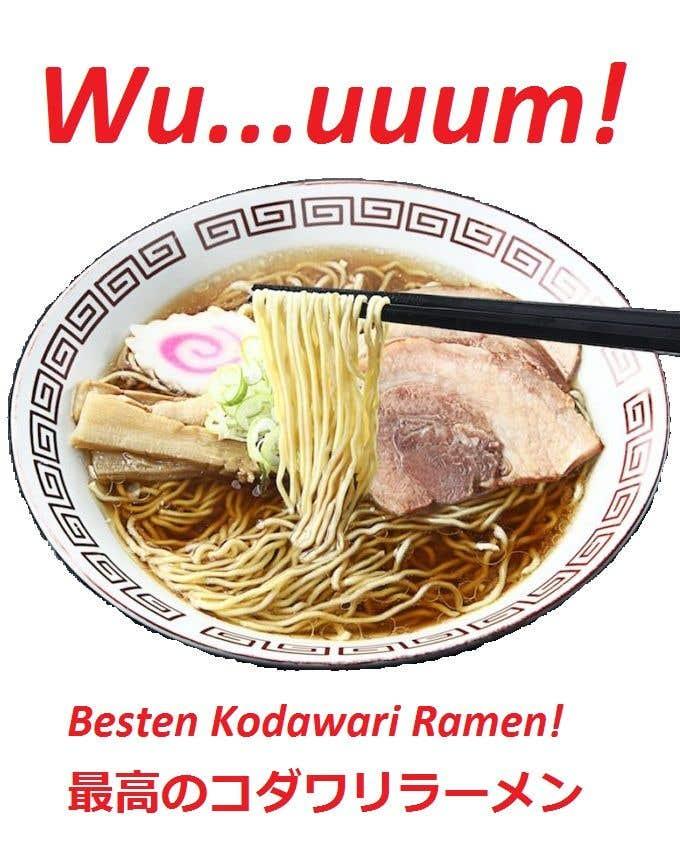 Inscrição nº 36 do Concurso para Name for a ramen restaurant