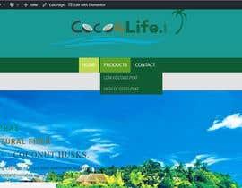 #7 dla New Design for a Website + Website Creation Based on the selected design przez jahangir505