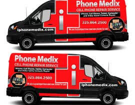 #26 для Graphic Design for Commercial Vehicle wrap от TheFaisal