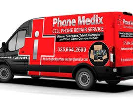#27 для Graphic Design for Commercial Vehicle wrap от TheFaisal