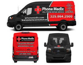 #30 для Graphic Design for Commercial Vehicle wrap от TheFaisal