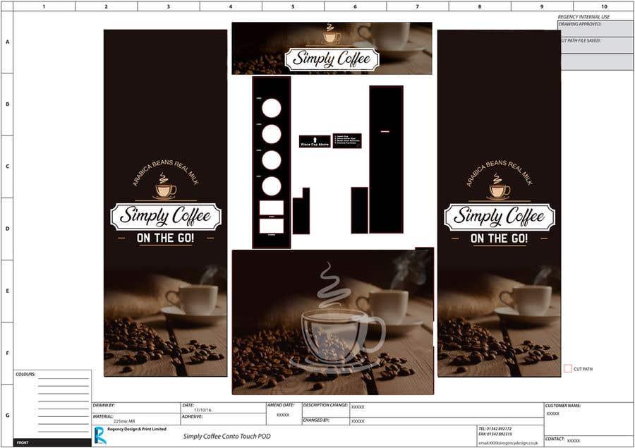 Entry #97 by mfyad for COFFEE MACHINE ARTWORK MODERN | Freelancer